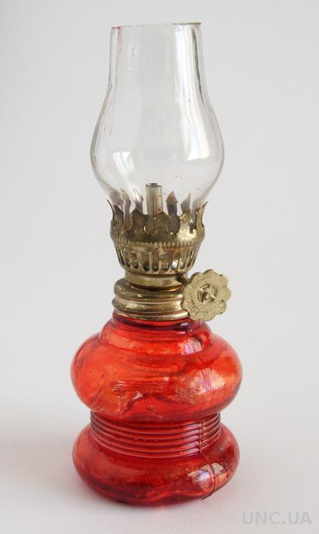 Антикварная декоративная масляная лампа №14 1960-е