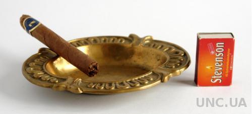 Антикварная пепельница, бронза, 1950-е гг. Germany