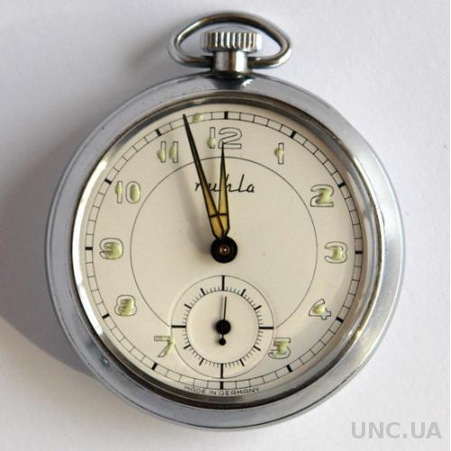 Карманные мужские часы Ruhla, 1983 г., Germany