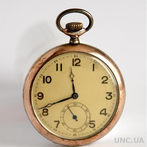 Карманные серебряные часы FFBA45 800 прб Швейцария