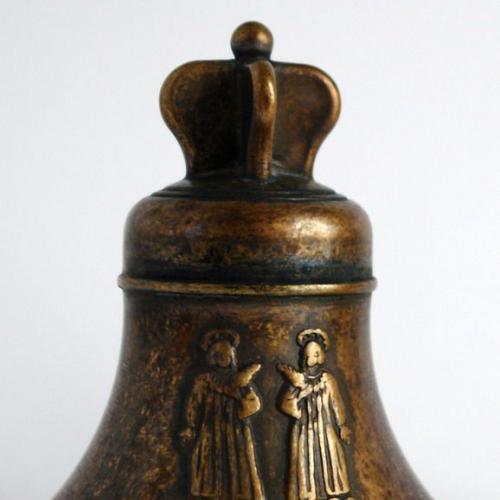 Колокольчик бронзовый Святые Косма и Дамиан Италия