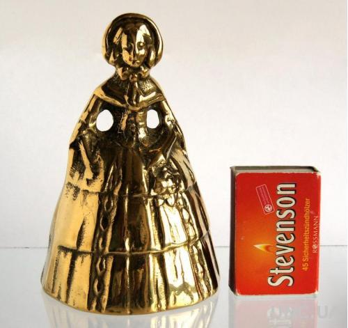 Колокольчик латунный Леди Lady Bell Big Англия