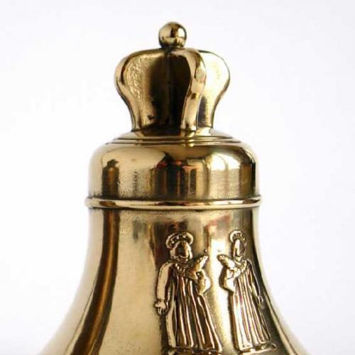 Колокольчик латунный Святые Косма и Дамиан Италия