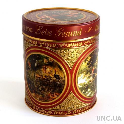 Коробка шкатулка металлическая для мелочей, Germany