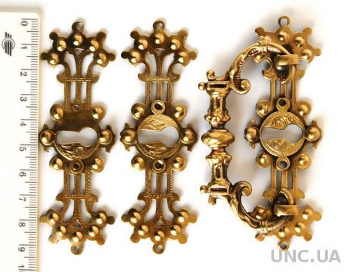 Мебельная фурнитура fr01 латунь/бронза Германия