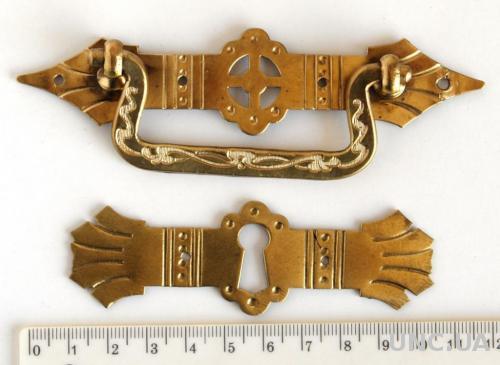 Мебельная фурнитура fr11 латунь/бронза Германия