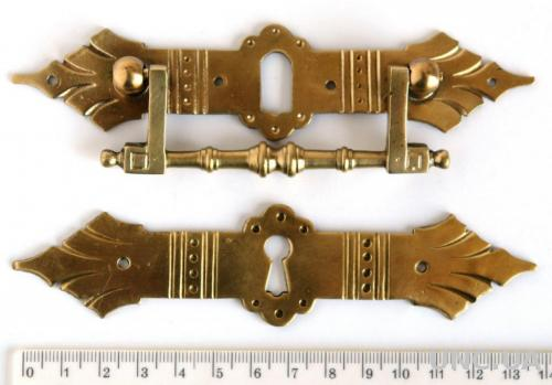 Мебельная фурнитура fr14 латунь/бронза Германия