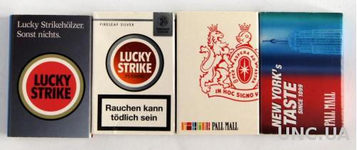 Спички, 4 штуки, коллекция №27, Германичя