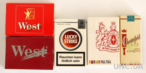 Спички, 5 штук, коллекция №4, Германия