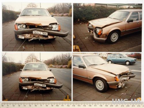 Фото Авто Opel Rekord после ДТП 4 шт 1980е Germany