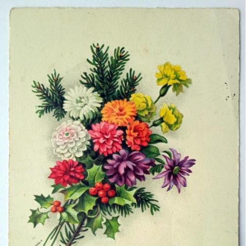 Поштова карточка листівка открытка З Днем народження 1930 рік Germany Yu34