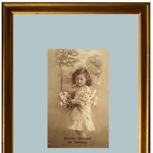 Поштова карточка листівка открытка З іменинами 1917 рік Switzerland Yu79