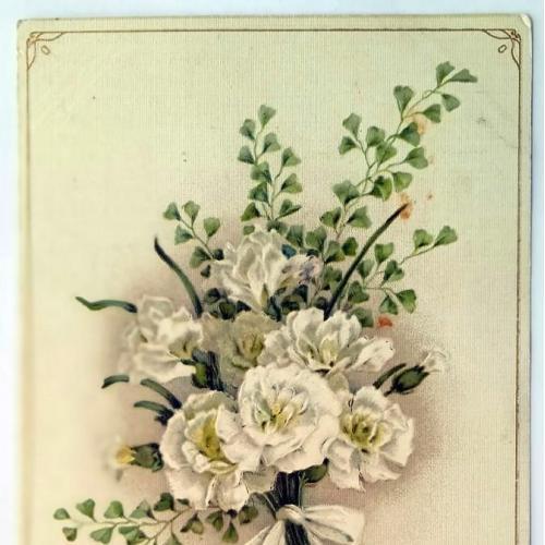 Поштова карточка листівка открытка З іменинами поч. ХХ ст. Austria Yu40