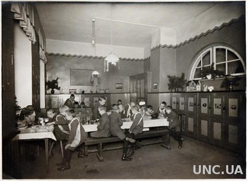 Старинное фото Занятия в классе нач ХХ в. Германия