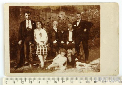 Старинное семейное фото, 1928 г., Германия