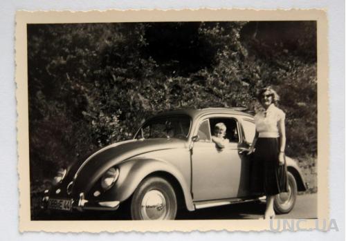 Старое фото Любимый Volkswagen 1950 Германия