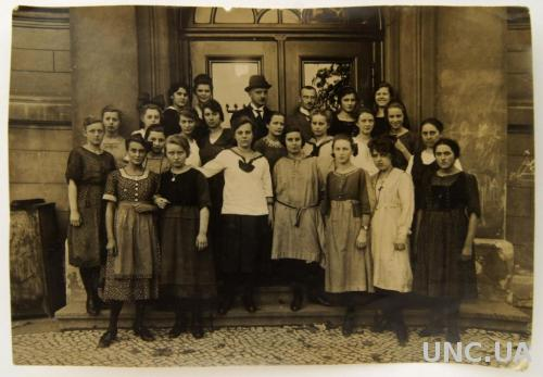 Старое фото Студентки нач. ХХ века Берлин Germany