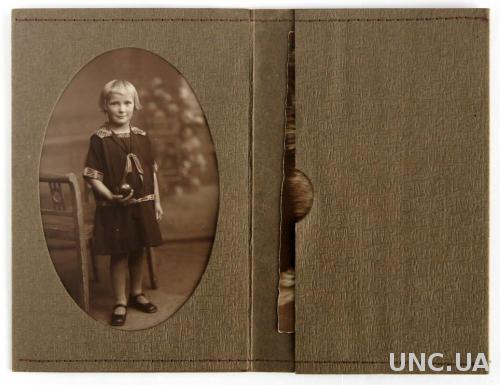 Старые фото 2 штуки в паспарту 1900-е гг Germany