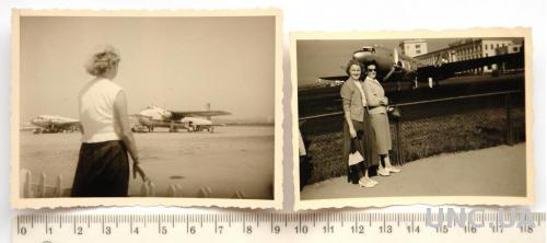 Старые фото Самолеты 2 шт 1950-60-е Германия