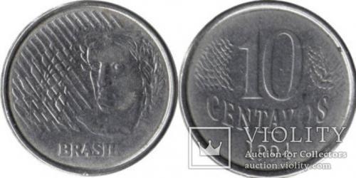10 сентаво 1994 БРАЗИЛІЯ