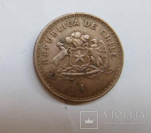 100 песо 1989 ЧИЛІ