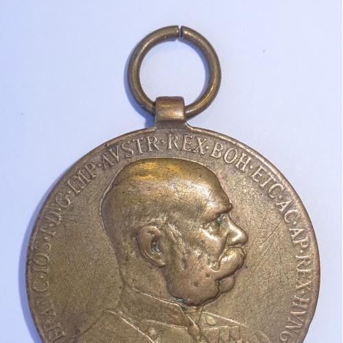 АВСТРИЯ  1908Г, МЕДАЛЬ, БРОНЗА.