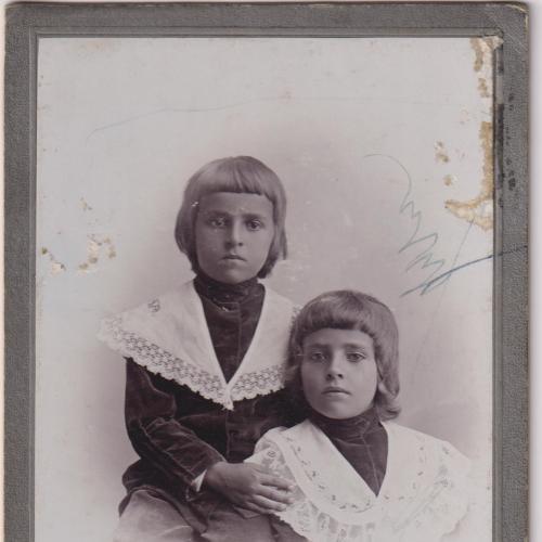 БАЛТА.       Кабинетка Кабинет Портрет ДО 1920 гг. ФОТО.  Размеры около - 16,0х10,5 см.