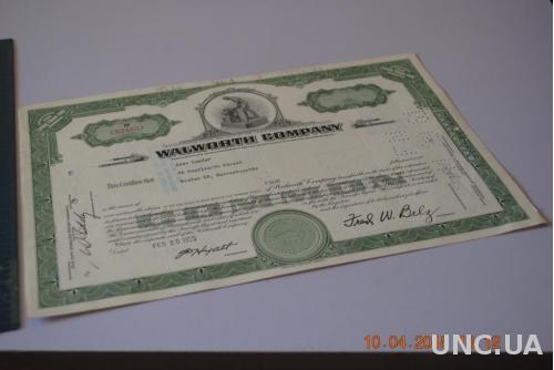 АКЦИЯ США 1961Г.