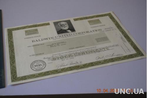 АКЦИЯ США 1978Г.