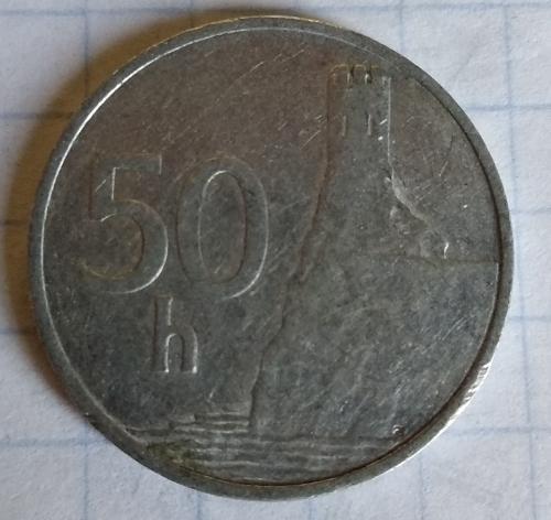50 Геллеров 1993г Словакия