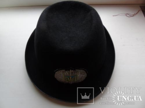Шляпка женская милицейская