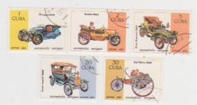 Марки Кубы 5 шт. Автомобили