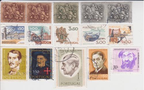 Марки Португалии 15 шт.