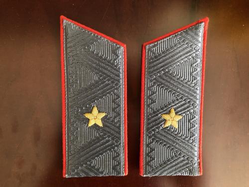 Погоны на парадную шинель генерал-майора Сухопутных войск СССР 70-ые годы (новые)