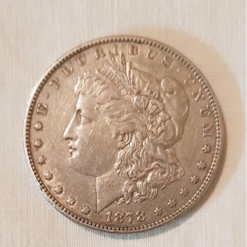 Моргановский доллар