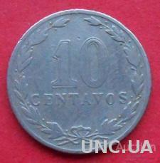 Аргентина 10 сентаво 1909 год.