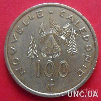Новая Каледония 100 франков 2007 год.