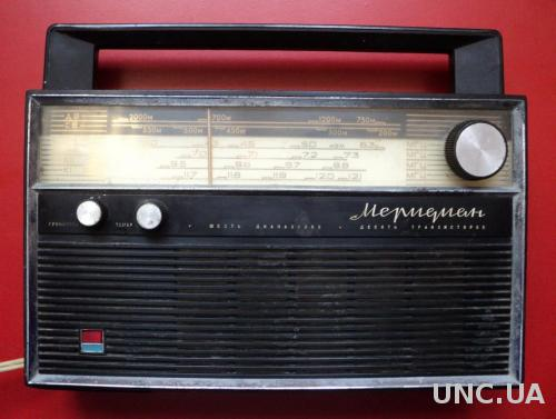 Радиоприемник Меридиан 6TR10-K11