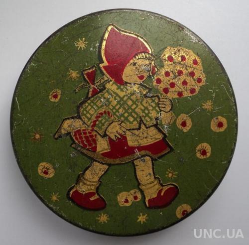 Жестяная Коробка Сладостей СССР Красная Шапочка