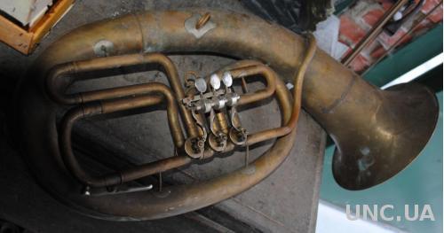 Баритон, заміна машинки. Труба музична в гарному стані (або з мундштуком +100грн)
