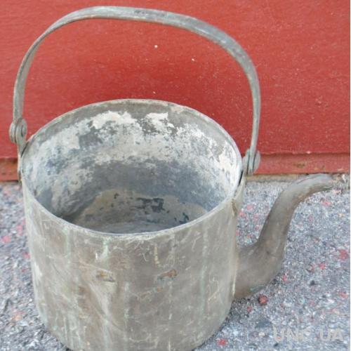 Чайник антикварний, клеймо Шолоков, царизм.