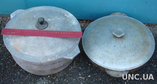 Для плова казан 9л з кришкою, товстостінна сковорода 3л СРСР один лот.