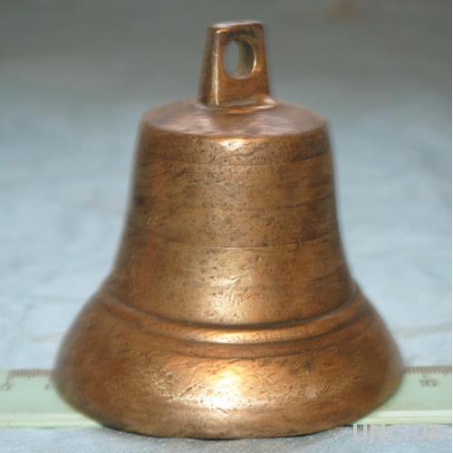 Дзвіночок бронзовий, антикварний, подарунок, оберіг. Колокольчик .