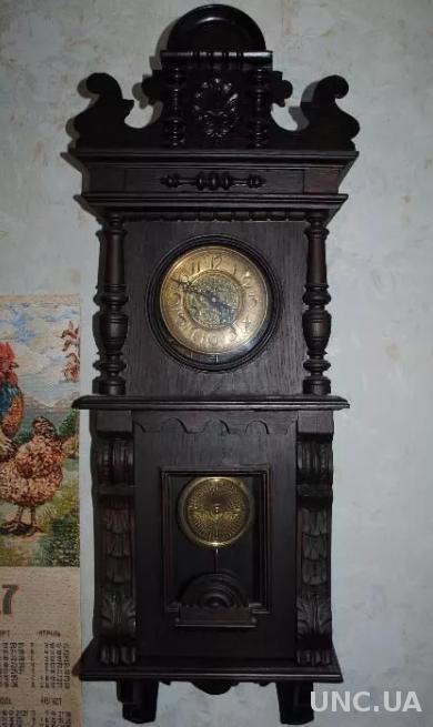 Годинник аникварний. Часы рабочие старинные настенные.