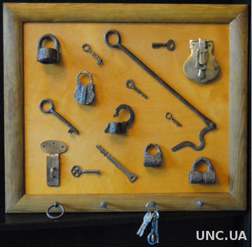 Hand made. Ключниця оригінальна велика. Ручна роб.