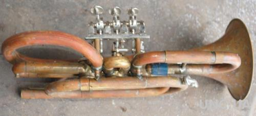 Корнет, нова машинка. Труба музична в гарному стані (або з мундштуком +100грн)