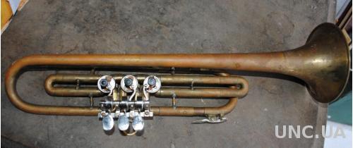 Корнет. Труба музична в гарному стані (або з мундштуком +100грн)