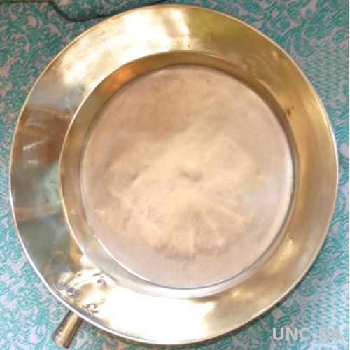 Сковорода антикварна дуже доброго стану, можна користуватись, робоча V близько 5л. Клейма, царизм.