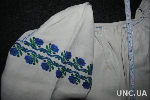 Сорочка вишиванка не велика жіноча старовинна на конопляному полотні. 0de074d165fbd