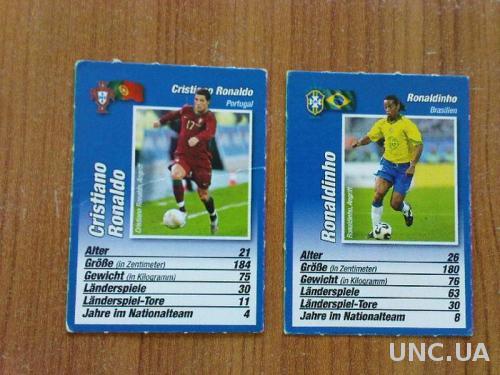 Карточки з футболістами